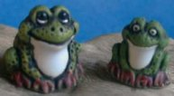 Small Green Frogs